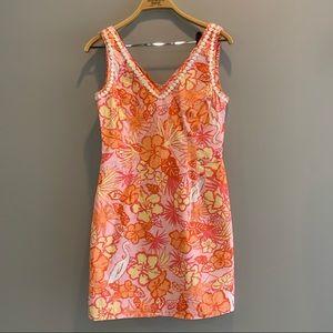 Vintage Lilly Pulitzer sleeveless dress size 2